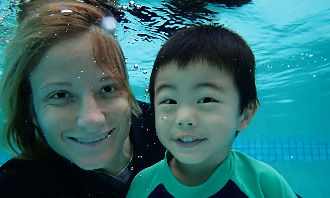 Our learn to swim and survive program