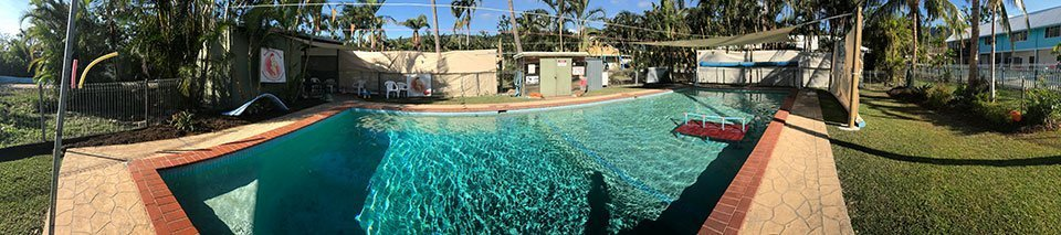Our pool in Airlie Beach