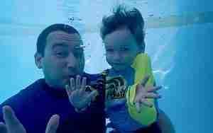 Whitsunday learn to swim with Joy